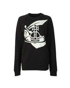 Vivienne Westwood Anglomania Womens Black Classic Sweatshirt