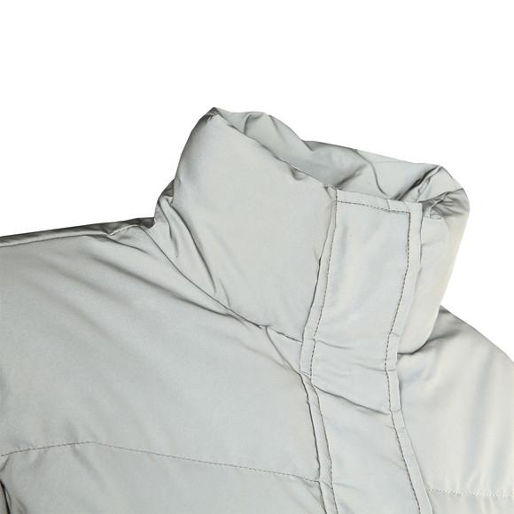 ec1d5a132566 Calvin Klein Jeans Womens Silver Down Reflective Short Jacket main image