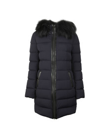 Mackage Womens Blue Calla Lightdown Jacket