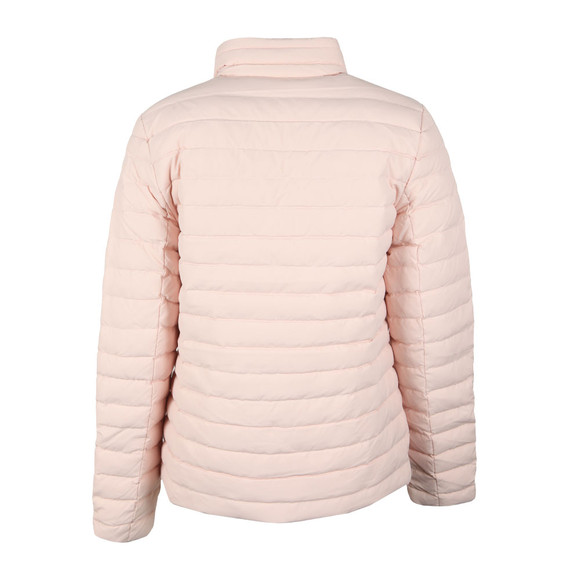 Calvin Klein Jeans Womens Pink Reversible Down Puffer Jacket main image