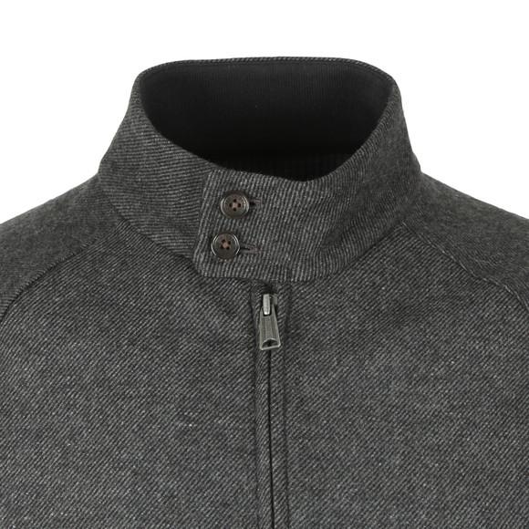 Ben Sherman Mens Grey Wool Harrington main image