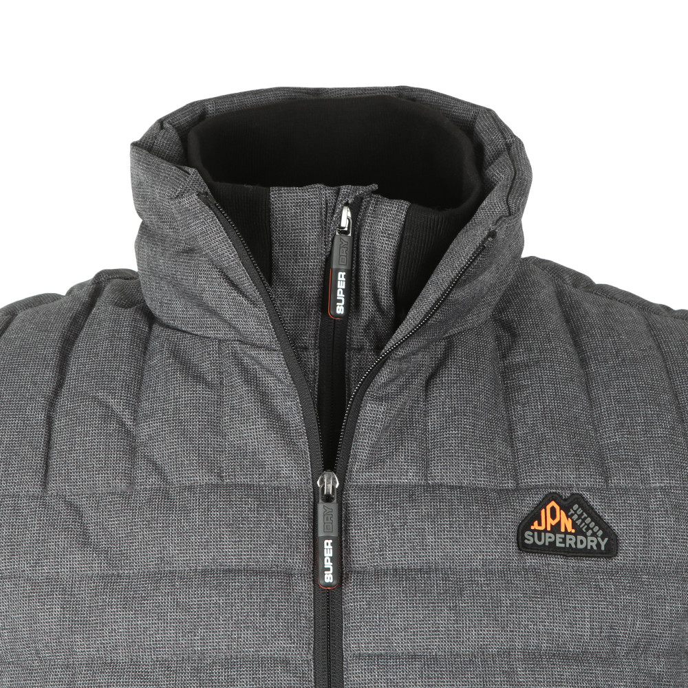 Double Zip Tweed Fuji Vest main image