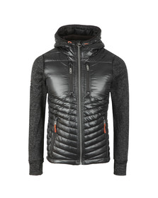Superdry Mens Black Storm Hybrid Jacket