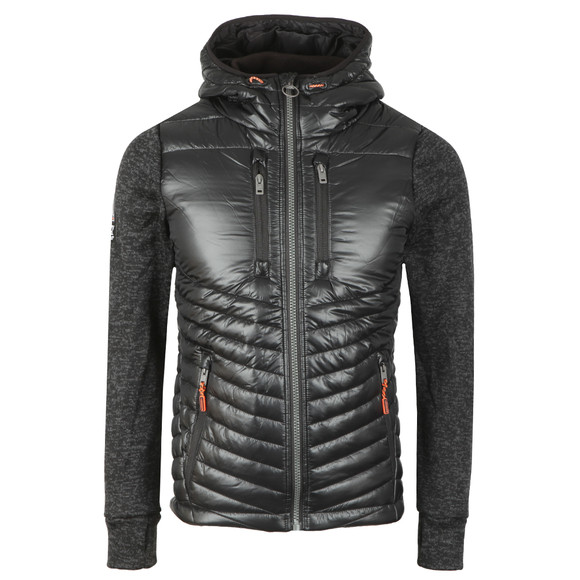 Superdry Mens Black Storm Hybrid Jacket main image