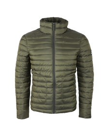 Superdry Mens Green Double Zip Fuji Jacket