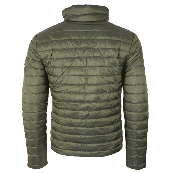 Superdry Mens Green Double Zip Fuji Jacket main image