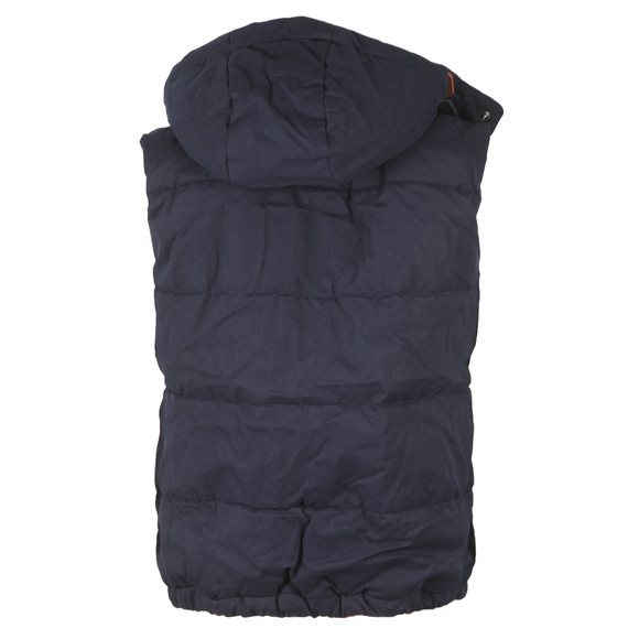 Superdry Mens Blue New Academy Gilet main image
