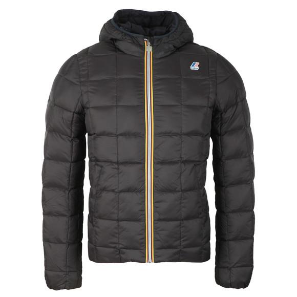 K-Way Mens Blue Jacques Thermo Plus Jacket main image