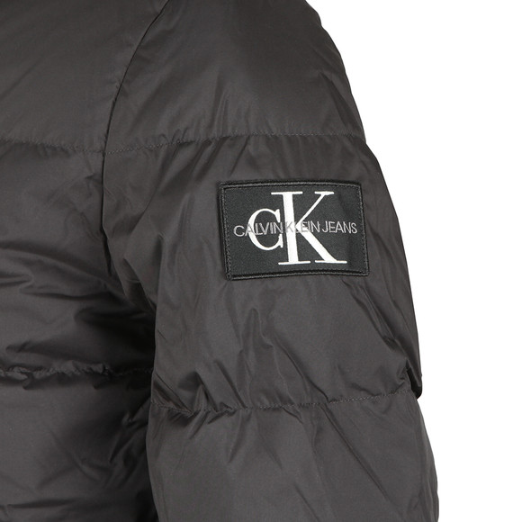 Calvin Klein Jeans Mens Black Hooded Down Jacket main image