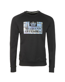 Weekend Offender Mens Black Boxes Sweat