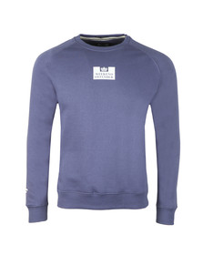 Weekend Offender Mens Blue Saddler Sweat