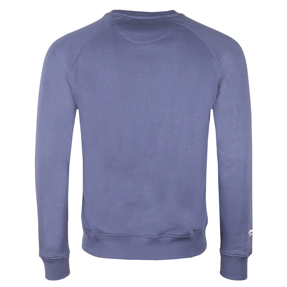 Weekend Offender Mens Blue Saddler Sweat main image