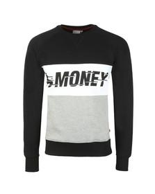 Money Mens Black Speed Crew Sweat
