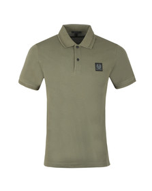 Belstaff Mens Green Stannett Polo Shirt