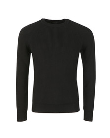 Belstaff Mens Black Parkland Knitted Jumper