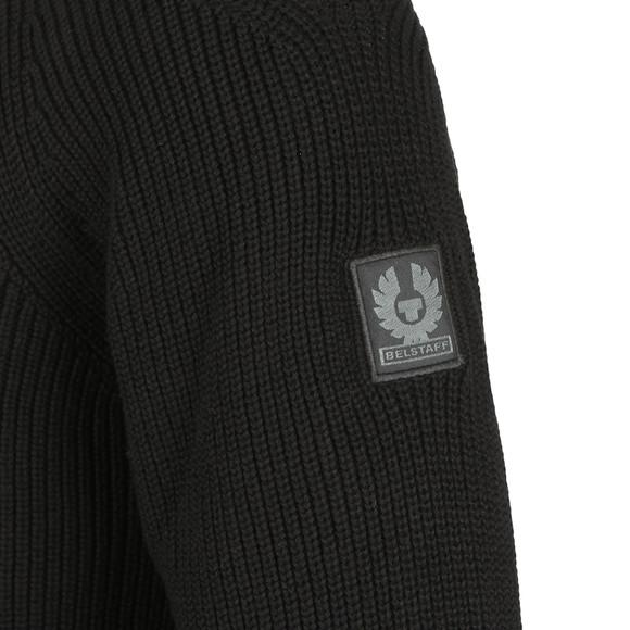 Belstaff Mens Black Parkland Knitted Jumper main image