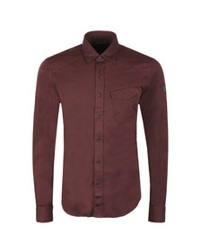 Belstaff Mens Red Steadway Shirt