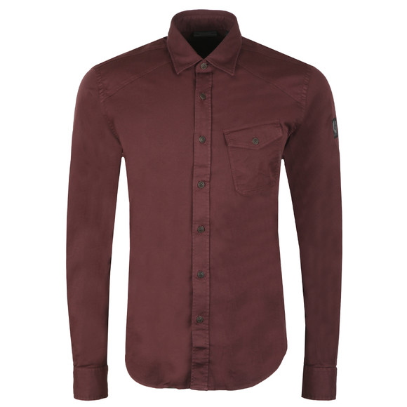 Belstaff Mens Red Steadway Shirt main image