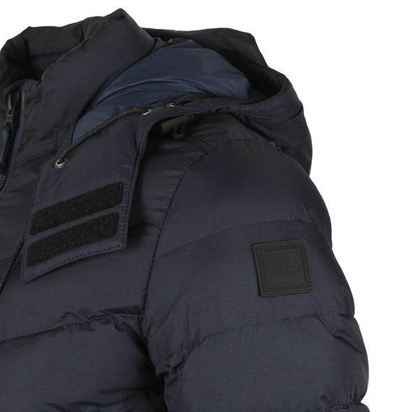 BOSS Mens Blue Casual Obrook Padded Jacket main image