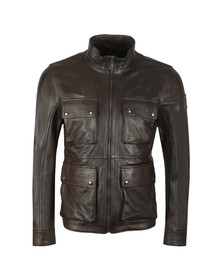 Belstaff Mens Brown New Brad Leather Jacket