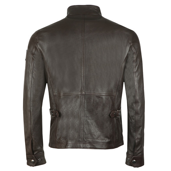 Belstaff Mens Brown New Brad Leather Jacket main image
