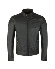 Belstaff Mens Black Kelland Wax Blouson