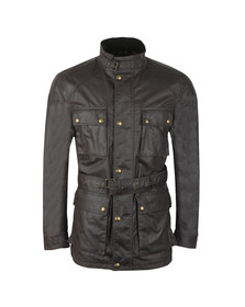 Belstaff Mens Purple Roadmaster Jacket