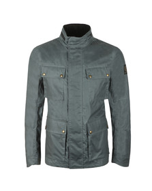 Belstaff Mens Turquoise Explorer Wax Jacket