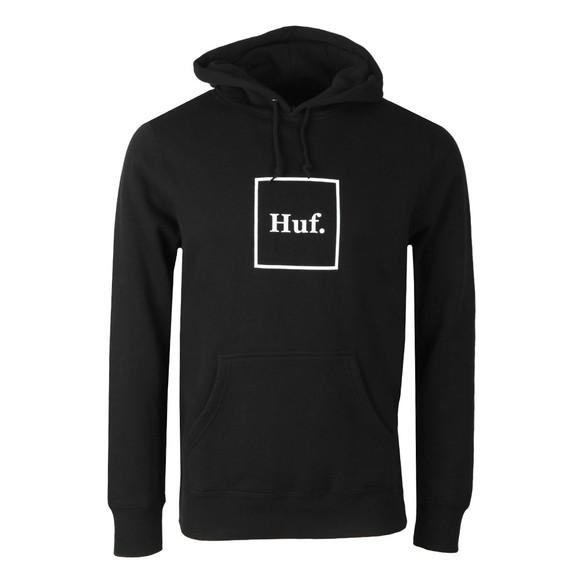 HUF Mens Black Box Logo Pullover Hoody main image