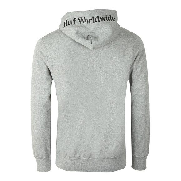 HUF Mens Grey Box Logo Pullover Hoody main image
