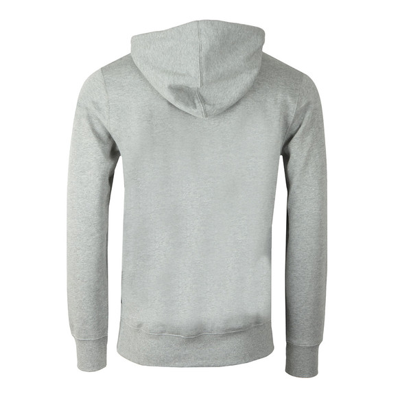 HUF Mens Grey Essentials OG Logo Pullover Hoody main image