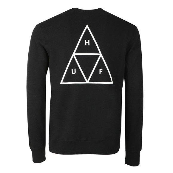 HUF Mens Black Essentials TT Sweat main image