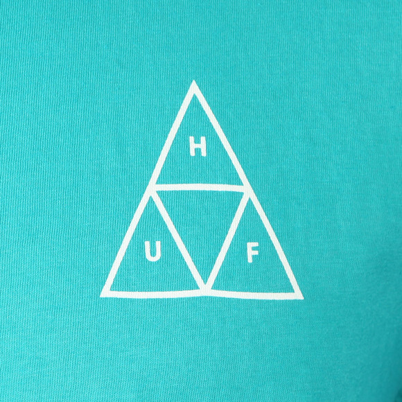 HUF Mens Green Essentials TT Tee main image
