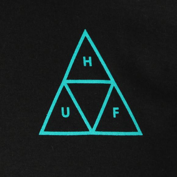 HUF Mens Black High Tide Triangle Tee main image