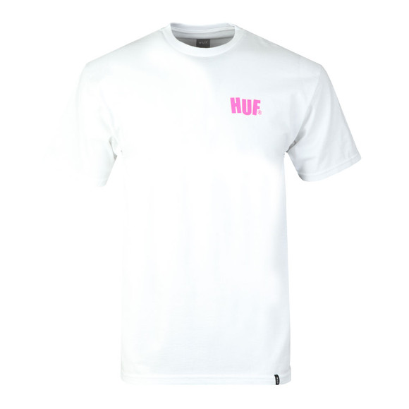 HUF Mens White Huf City Rockers Tee main image