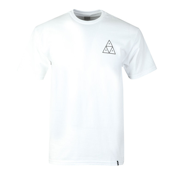 HUF Mens White Essentials TT Tee main image