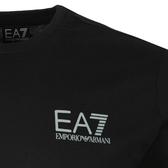 EA7 Emporio Armani Mens Black 6ZPT27 T Shirt main image