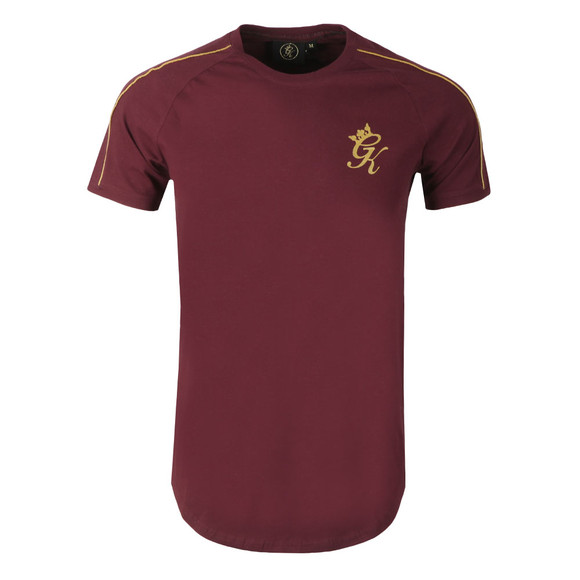 Gym King Mens Purple Gold Edition Retro Tee main image