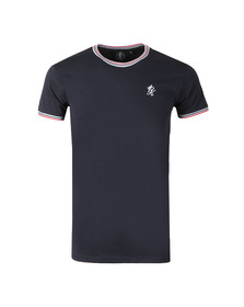 Gym King Mens Multicoloured Signature Tipped Tee