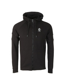 Gym King Mens Black Core Plus Track Top