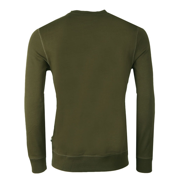 Aquascutum Mens Green Oliver Crew Neck Sweater main image
