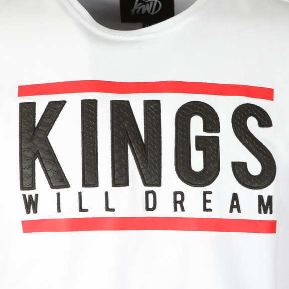 Kings Will Dream Mens White S/S Haswell Tee main image