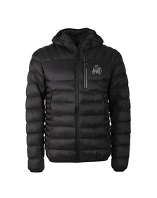 Kings Will Dream Mens Black Korley Reflective Jacket