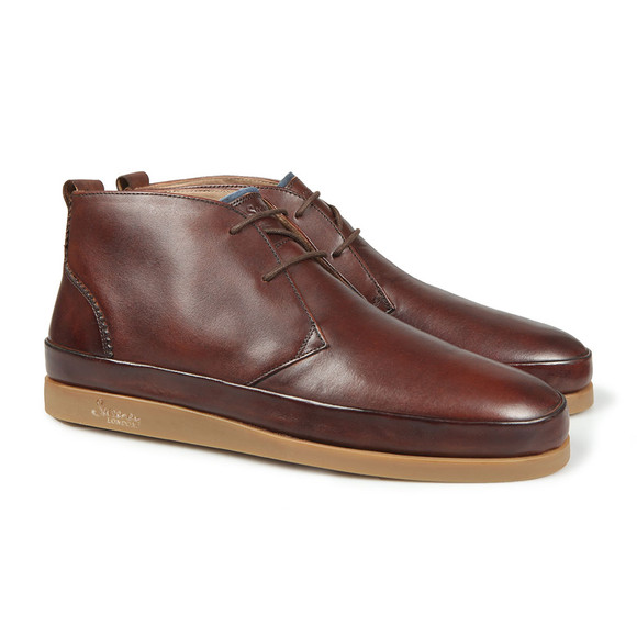 Oliver Sweeney Mens Brown Islingword Chukka Boot main image