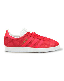 adidas Originals Womens Red Gazelle OG W Trainer