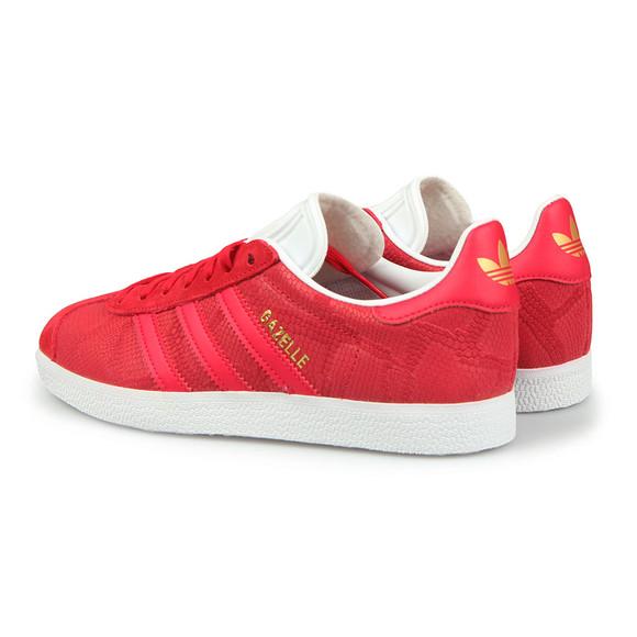 adidas Originals Womens Red Gazelle OG W Trainer main image
