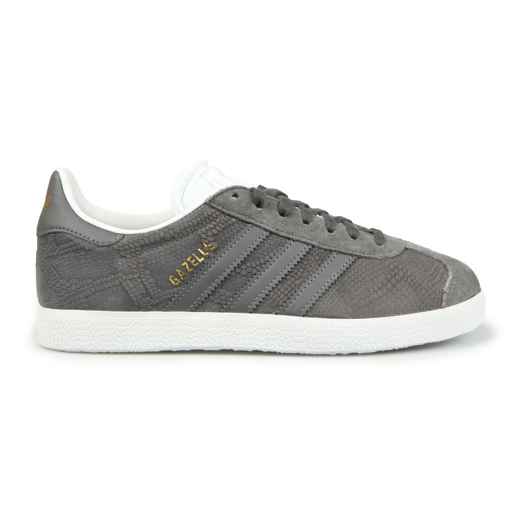 adidas Originals Womens Grey Gazelle OG W Trainer 7d0b90faf