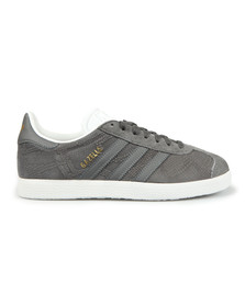 Adidas Originals Womens Grey Gazelle OG W Trainer