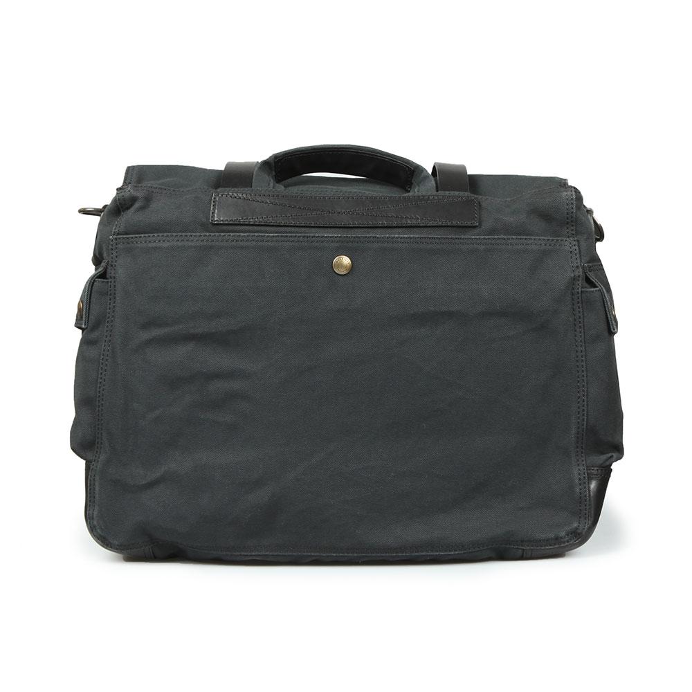 9a9f42e8f0e8 Belstaff Mens Black Colonial Messenger Bag