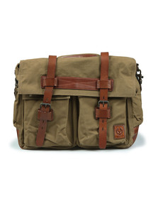 Belstaff Mens Brown Colonial Messenger Bag